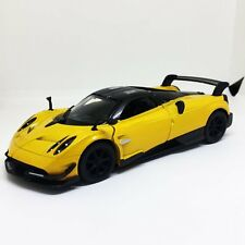 "New Kinsmart 5"" Pagani Huayra BC Diecast Model Toy Sports Super Car 1:38- Yellow"