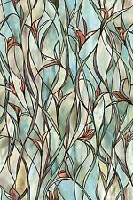 Savannah Window Film Treatments Home Decor Textured Stained Glass Panels Accent