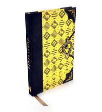 HARRY POTTER HUFFLEPUFF Premium Journal Notebook - Noble Collection