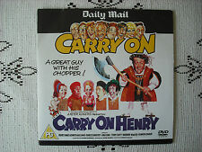 RARE MAIL PROMO DVD - CARRY ON HENRY - BRITISH COMEDY AT ITS VERY BEST