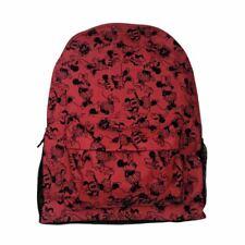 Disney Minnie Mouse Mochila Bolso Escolar Roxy-Rojo Y Negro Uni carácter niños
