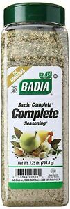 Badia Complete Seasoning (Sazón Completa) - 793.g (28 oz)