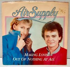 "Air Supply Making Love Out Of Nothing At All 45 Vinyl 7"" Single Mislabeled"