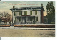 CB-059 AL, Montgomery, Jefferson Davis Home  Divided Back Postcard Exterior View