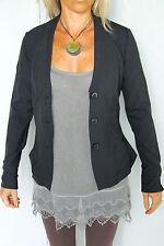jolie veste blazer noire M+F GIRBAUD neojack T. 34 NEUVE/ÉTIQUETTE valeur 320€