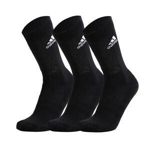 Adidas Cushioned Crew Socks 3-Paris Black DZ9357