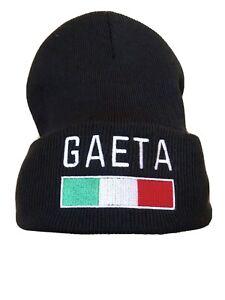 GAETA, Italy Beanie - Black