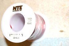 NTE WM18-0.5 ENAMELED MAGNET WIRE 18 AWG 1/2 pound full spool