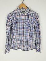 TOMMY HILFIGER DENIM Camicia Shirt Maglia Chemise Hemd Tg S Woman Donna