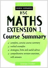 HSC Maths Extension I Course Summary YEAR 12