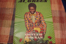 AL GREEN CONCERT PROGRAM FROM BATCHELORS lll FT. LAUDERDALE CIRCA 1976 REDUCED!!