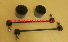 SEAT IBIZA IV MK4 6L (02-08) FRONT WISHBONE ARM BUSHES AND ANTI-ROLL LINKS BARS