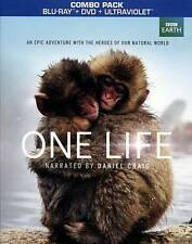 One Life (Blu-ray) BBC EARTH BRAND NEW Free Shipping! Narrated by Daniel Craig