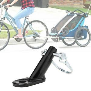 Fahrrad Anhänger Kupplung mit Sicherungsstift Stahl Kupplung Adapter Kinderwagen