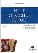 diat. diatonische Handharmonika Noten : Neue Holzschuh Schule Band 2 - B-WARE