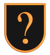 Wappen Patch abgerundet - Aufnäher selbst gestalten