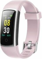 Yamay - SW336 Fitness Tracker Bluetooth Multi Wasserdicht IP68 Android iOS Rosa