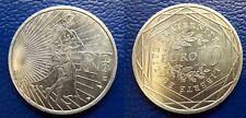 MONETA 10 EURO FRANCIA 2009 ARGENTO SILBERMüNZEN SILVER PLATA