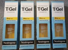 4 x Neutrogena T/Gel Dry Hair Shampoo for Dry Hair - 250ml each