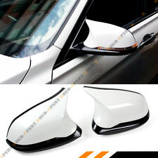 FOR BMW F22 F30 F32 F36 TRUE M4 STYLE FULL WING MIRROR HOUSING ASSEMBLY-WHITE