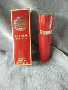 Rare Vintage Cinnabar Dusting Body Powder by Estee Lauder (2.5 oz) NIB