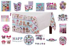 Lol Surprise Doll Birthday Party Supplies Favors Plates Decorations Headbands