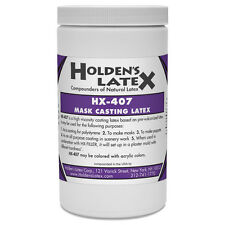 HX-407 LIQUID MASK MAKING AND CASTING LATEX RUBBER 1 QUART SIZE
