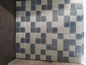 "American Olean Glass Mosaic Tile 11"" X 10"""