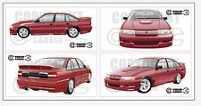New! Collectable VN SS Group A Holden Commodore Large XXL Sticker Set