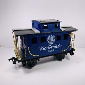 Scientific Toys Service Railway Santa Fe Rio Grande Blue Caboose  Replacements