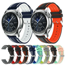 Waterproof Sport Band Rubber Bracelets for Galaxy Watch Bands 46mm S3 frontier