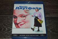 Mrs. Doubtfire 1993 Robin Williams blu-ray Russian edition