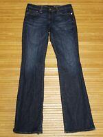 AG Adriano Goldschmied Jessie Curvy Boot Fit Blue Denim Jeans Womens size 30R