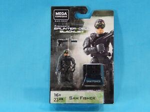 Mega Construx Splinter Cell Black Series Sam Fisher Figure New Sealed 2020