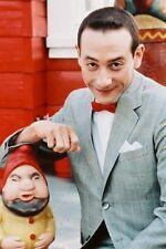 Paul Reubens photo Pee-Wee Herman with garden gnome 11x17 Mini Poster