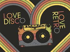 ART PRINT POSTER PAINTING DRAWING SEVENTIES RETRO STYLE TAPE MUSIC LOVE LFMP0665