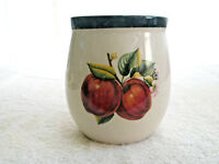 Vintage CHINA PEARL Casuals Jar or Vase Apples