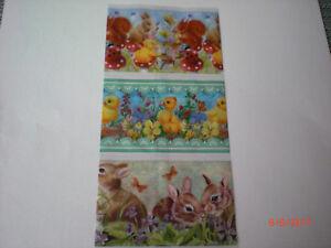 3 x Zauberfolie / Schrumpffolie für Eier 6 x 4,5 cm - NEU