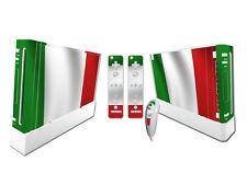 Nintendo Wii Skin Design Foils Aufkleber Schutzfolie Set - Italy Motiv