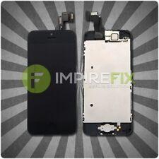 Display für iPhone 5C mit RETINA LCD Glas VORMONTIERT Komplett Front SCHWARZ TOP