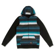 No Fear NEW Big Boys Full Zip Fleece Hoodie Jacket 60H0419 Large L $50