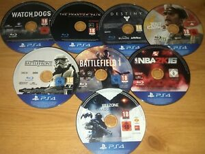 PS4 Discs Only Bundle Untested