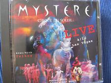 CD-Cirque du Soleil-MYSTERE... LIVE à LAS VEGAS (1994)