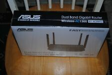 New! ASUS RT-ACRH13 Dual-Band 2x2 AC1300 Wifi 4-port Gigabit Router & USB 3.0