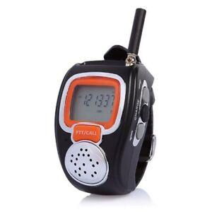A Pair Watch Walkie talkie,interphone,two way radio,Portable Digital FREETALKER