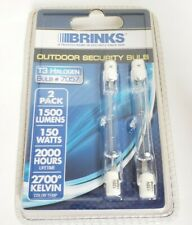 BRINKS Outdoor Security Bulb | 150W | T3 Halogen | 7057 | 1500Lumens New