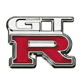 GT-R Chrome Badge Brand New