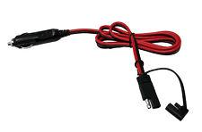 SAM-01 12V Cigarette Lighter Male Plug Adaptor for 2 Pin SAE Quick Disconnect