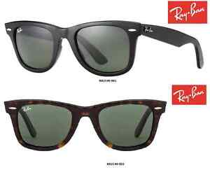 Ray-Ban Sunglasses RB2140 Wayfarer 901 or 902  (models) 100% New/Authentic