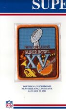 1981 SUPER BOWL XV 15 PATCH ONLY OAKLAND RAIDERS PHILADELPHIA EAGLES WILLABEE